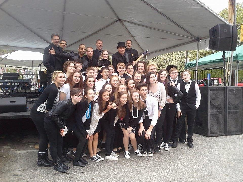 Elite Show Band community outreach, Pittsburgh Musical Theater, Xtreme Teen Browadway