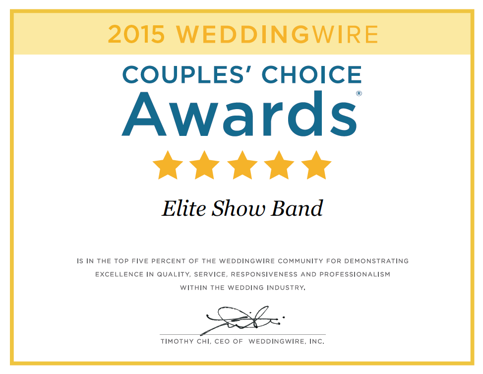 Elite Show Band, Luxury weddings, breakers resort weddings, florida wedding band, new york city wedding band music