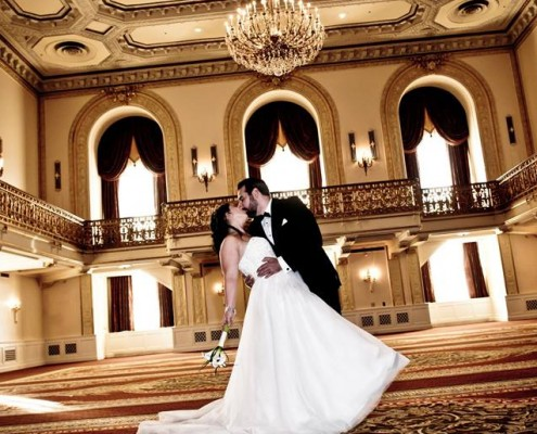 Pittsburgh Wedding Band- Omni William Penn Wedding